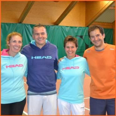 Frédérique et Pascal remportent le tournoi