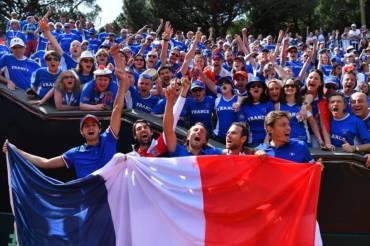 C'est fait ! La France est en demi-finale de la Coupe Davis