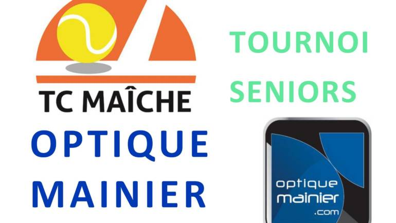 Tournoi Senior Optique Mainier 2020